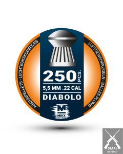 H&N Ansia Diabolo bolkop 5,5mm Kogeltjes