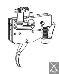 Tikka Set trigger mechanism complete T3