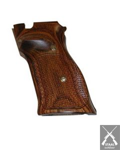 S&W Model 41 .22 Auto Checkered Highly Grained Hardwood