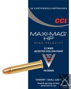 CCI Magnum HP .22 WMR