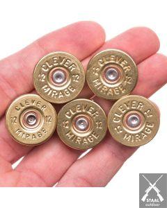 Lucky Shot Kogel Magneten - 5 stuks