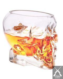 Lucky Shot Whiskyglas Doodshoofd