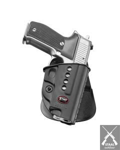 Fobus Paddle holster Roto voor Sig met Rails 226ND RT