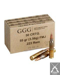 GGG .223 Remington FMJ 55 grain