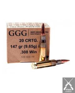 GGG .308 Winchester FMJ 147 grain