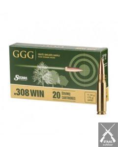 GGG Sierra MatchKing .308 Winchester 175 grain HPBT