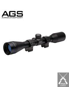 AGS 4x40 Cobalt Mil Dot