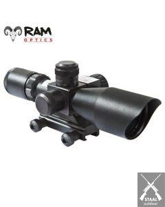 RAM-OPTICS 2.5-10 x 40 met Rode Laser