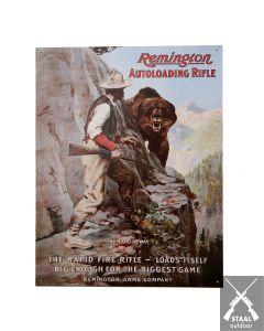 Metalen Plaat Remington Autoloading Rifle