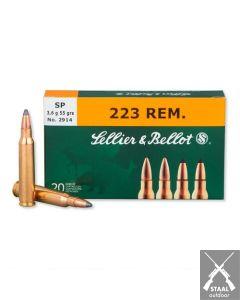Sellier & Bellot .223 Remington SP 55 grain