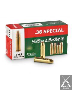 Sellier & Bellot .38 Special FMJ 158 grain