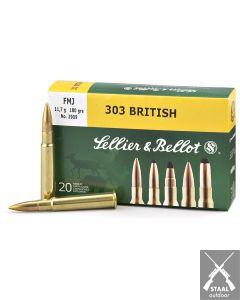 Sellier & Bellot .303 British FMJ 180 grain