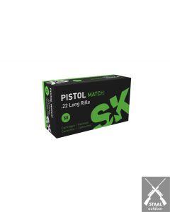 SK Pistol Match .22 LR RN 40 Grain