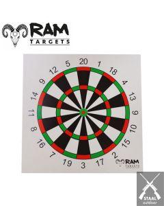 Schietkaarten 14x14 Darts