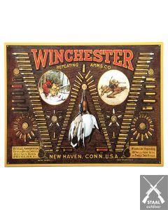 Metalen Plaat Winchester