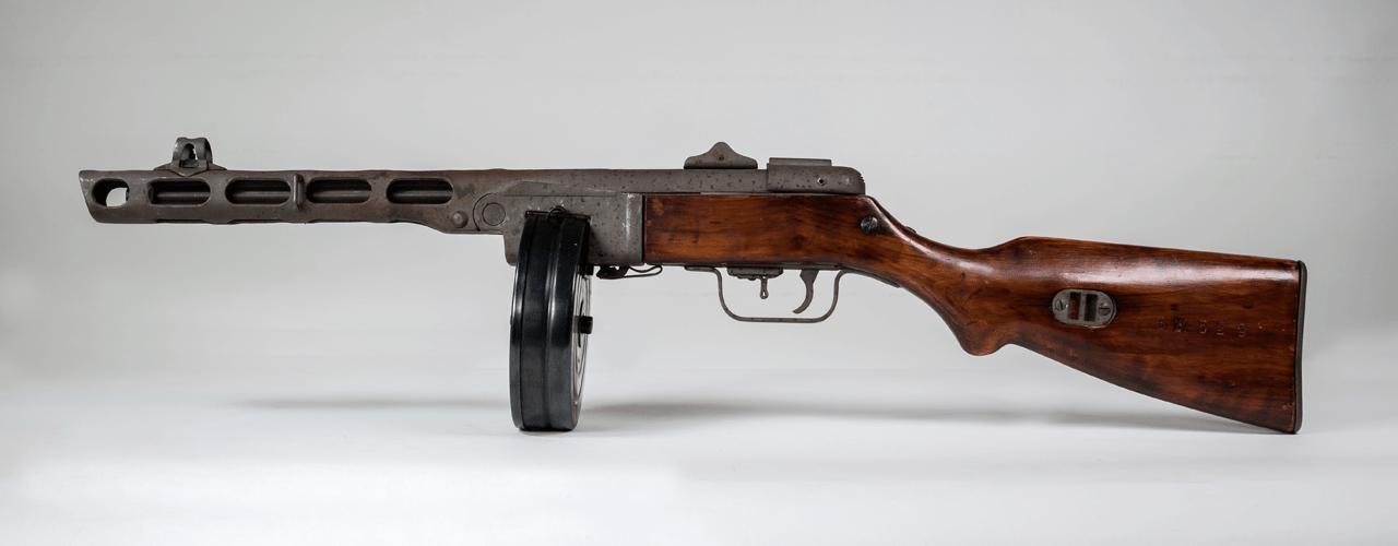 Antieke vuurwapens gedeactiveerd